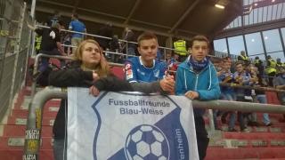 Fabienne, Aaron und Dennis (v.l.)