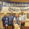 Die neue FC-Vorstandschaft von links: Birgit Batschied, Andreas Schüle, Claudia Schifferdecker und Wolfgang Rau - es fehlt Wolfgang Würgler